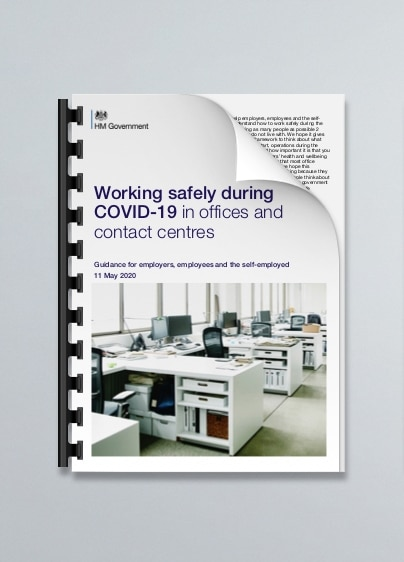 Working safely during COVID-19 in offices or contact centres