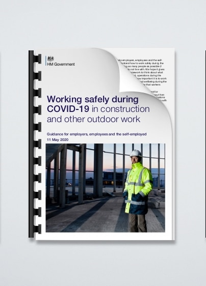Working safely during COVID-19 in construction and other outdoor work