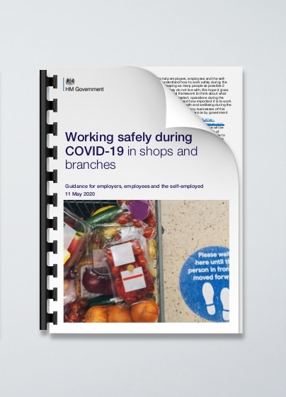 Working safely during COVID-19 in shops or branches
